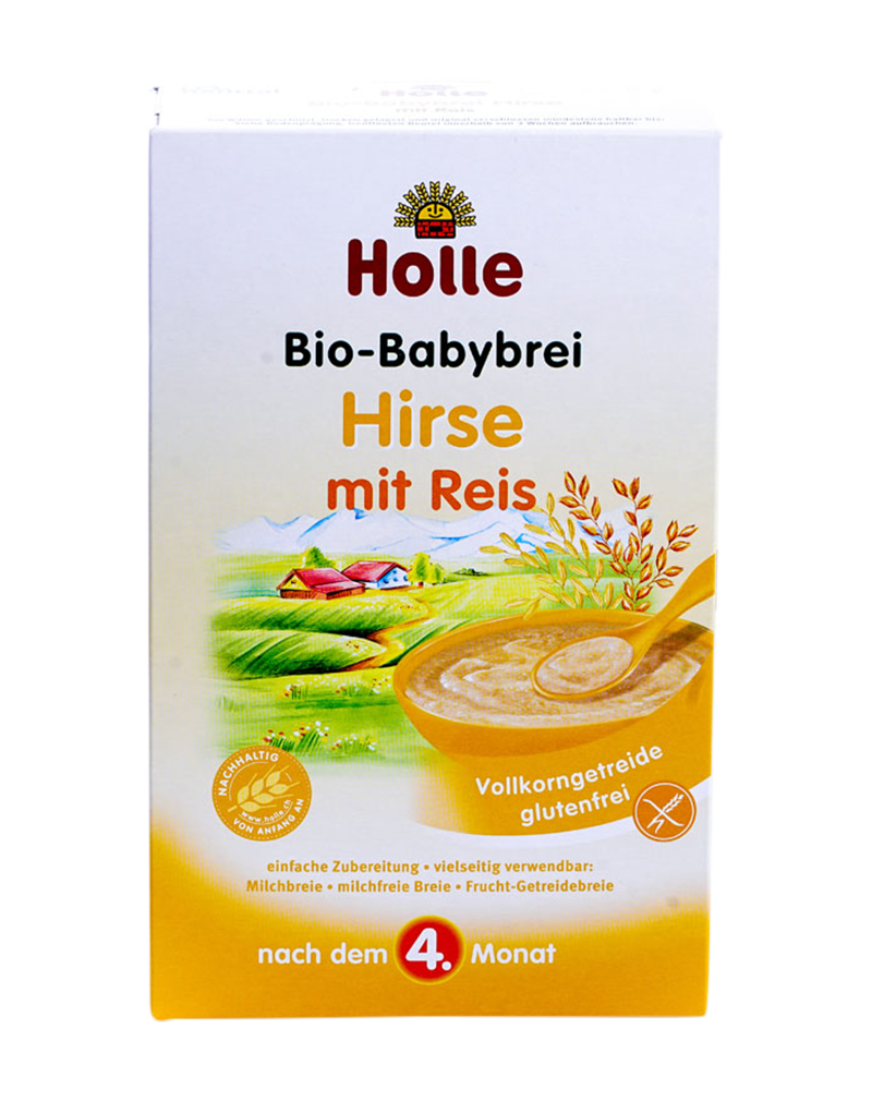 Holle Organic Baby Porridge Millet after the 4th month (250g)
