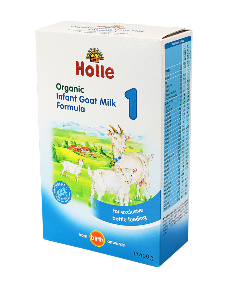 Holle Organic Infant Goat's Milk Formula 1-  from birth (400g)