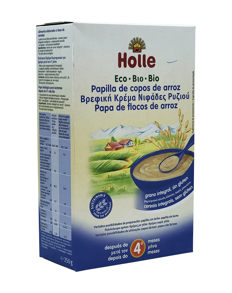 Holle Organic Rice Porridge 250g