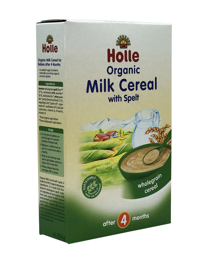 Clearspring Organic Milk Cereal with Spelt  after 4 months 250g
