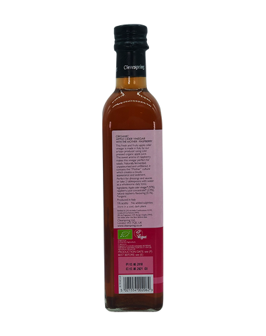Organic Apple Cider Vinegar with the Mother - Raspberry - 500ml