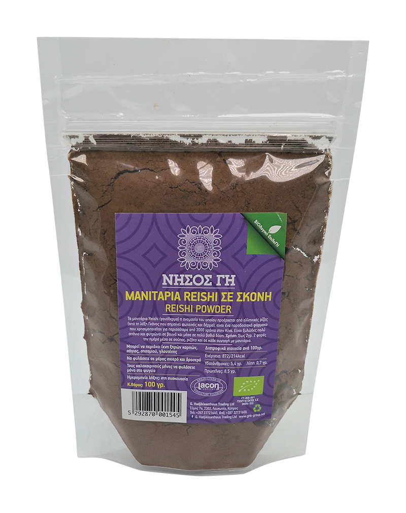 Nisos Gi Organic Mushrooms Reishi Powder (100g)