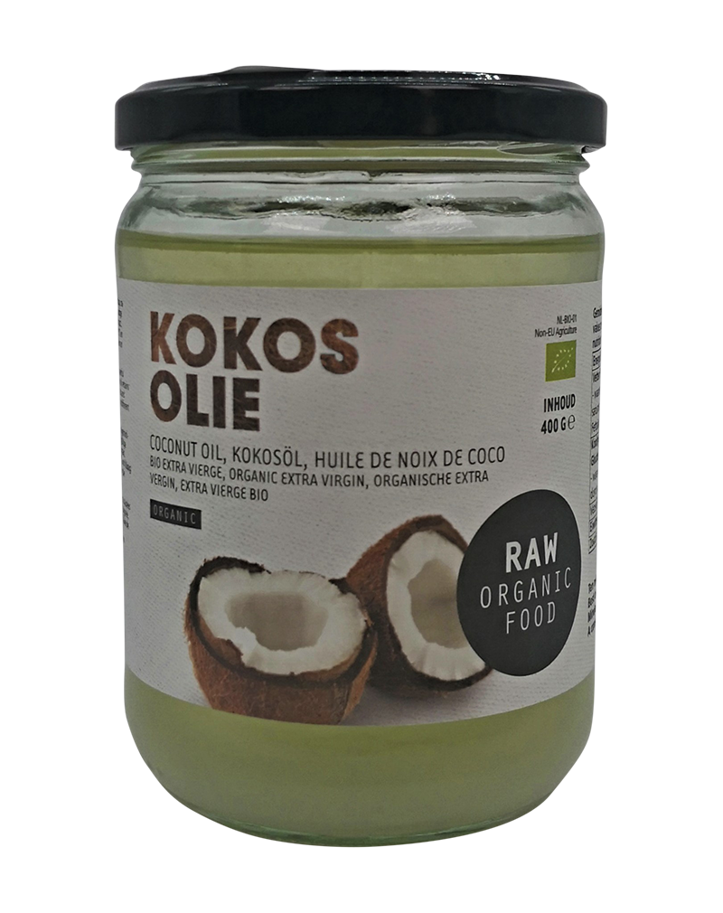Kokos Olie Organic Raw Coconut Oil (400ml)