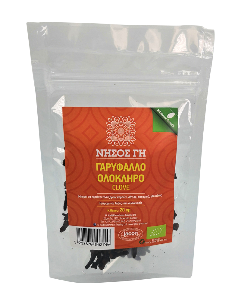 Nisos Gi Organic Clove Whole (20g)