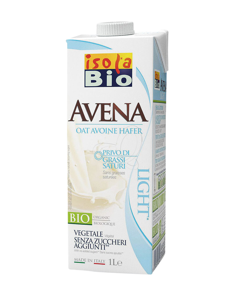 Isola Bio Organic Oat Light  Milk (1000ml)