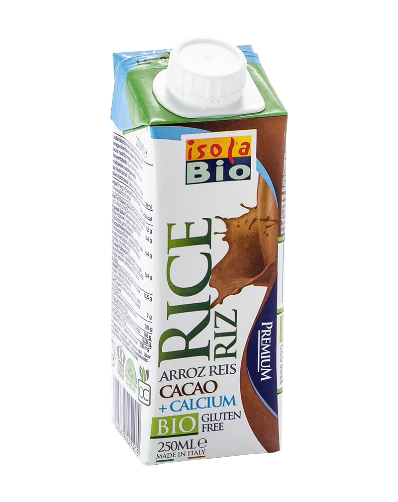 Isola Bio Organic Rice Calcium Cocoa Milk (250ml)