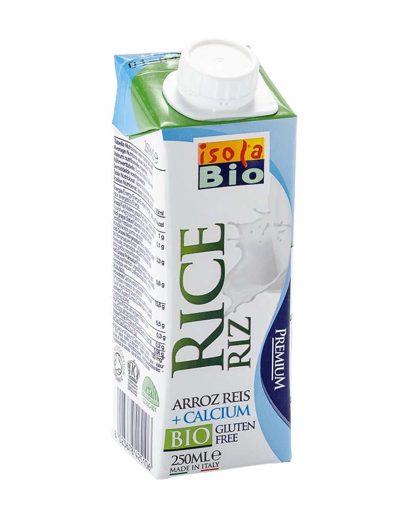 Isola Bio Organic Rice Calcium Milk (250ml)