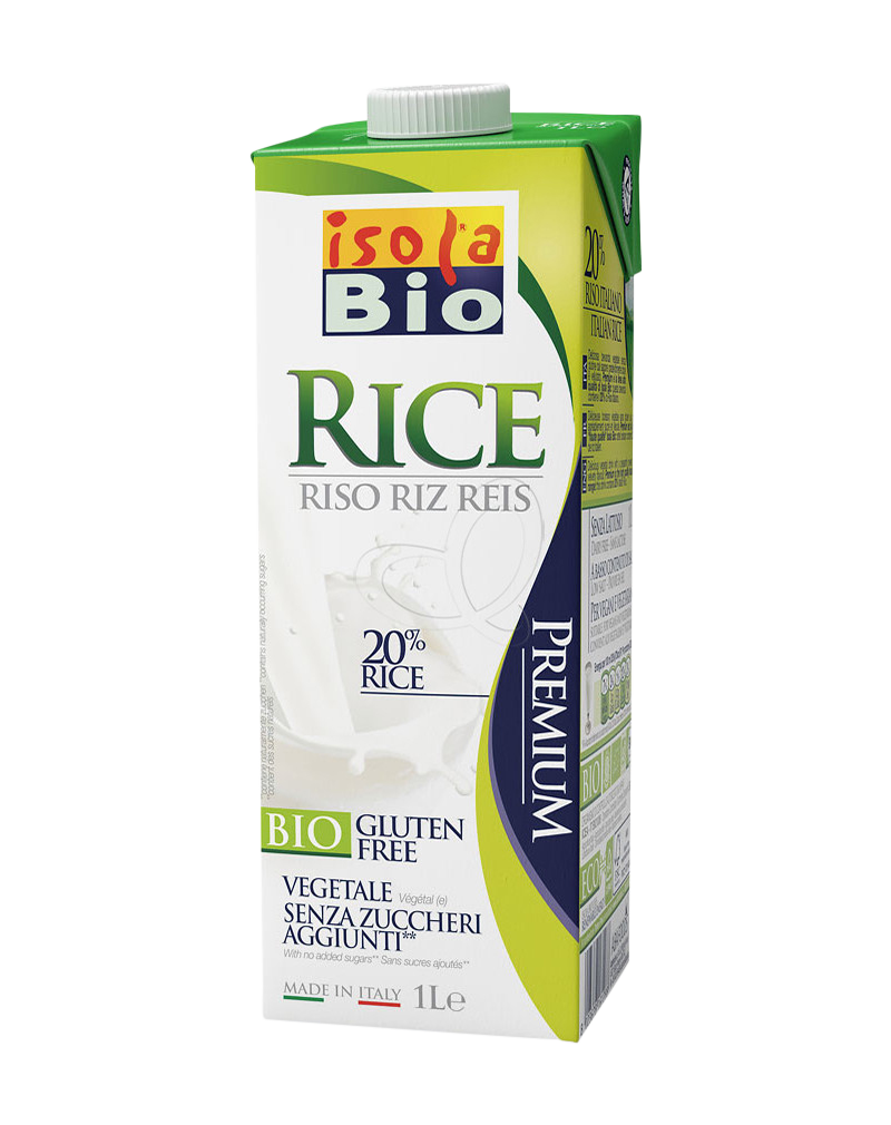 Isola Bio Organic Rice Milk (1000ml)