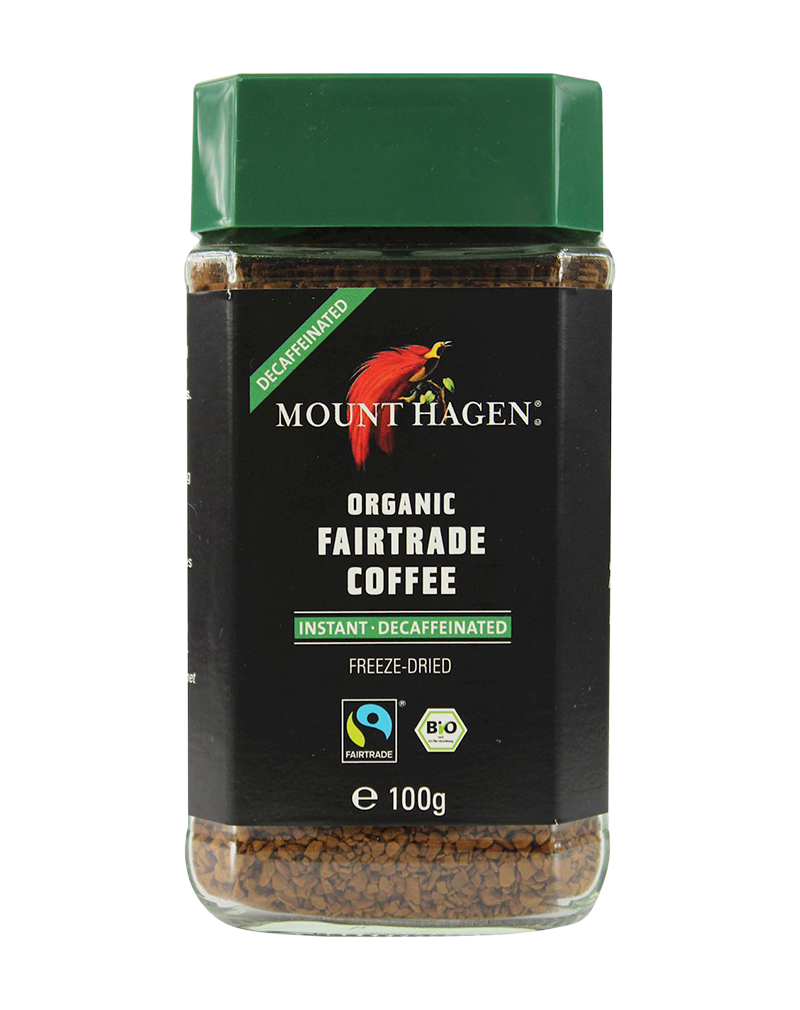 Mount Hagen Organic Decaffeinated Instant Coffee (100g)