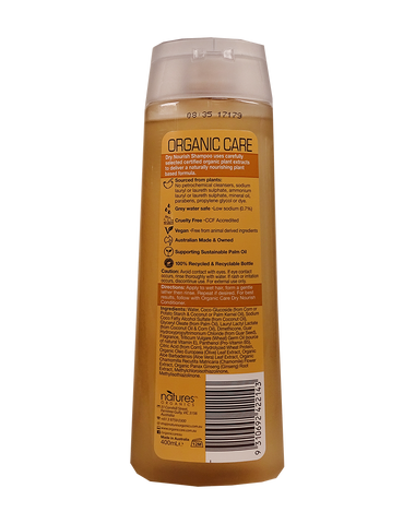 Natures Organics Organic Care Dry Nourish Shampoo (400ml)