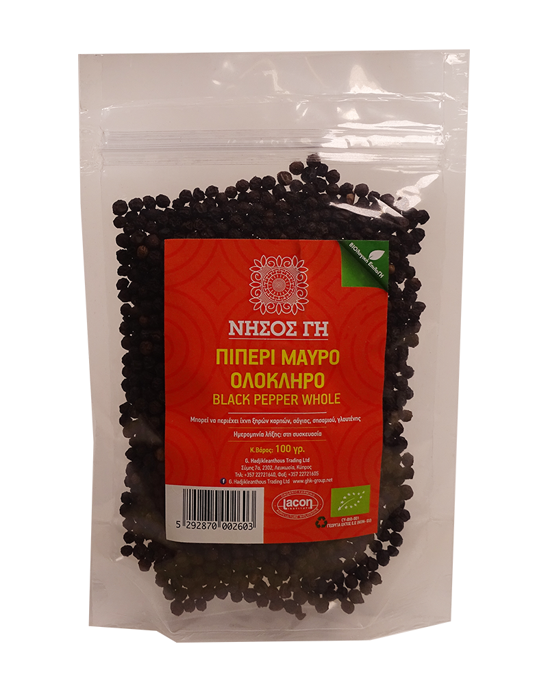 Nisos Gi Organic Black Pepper - HNG013