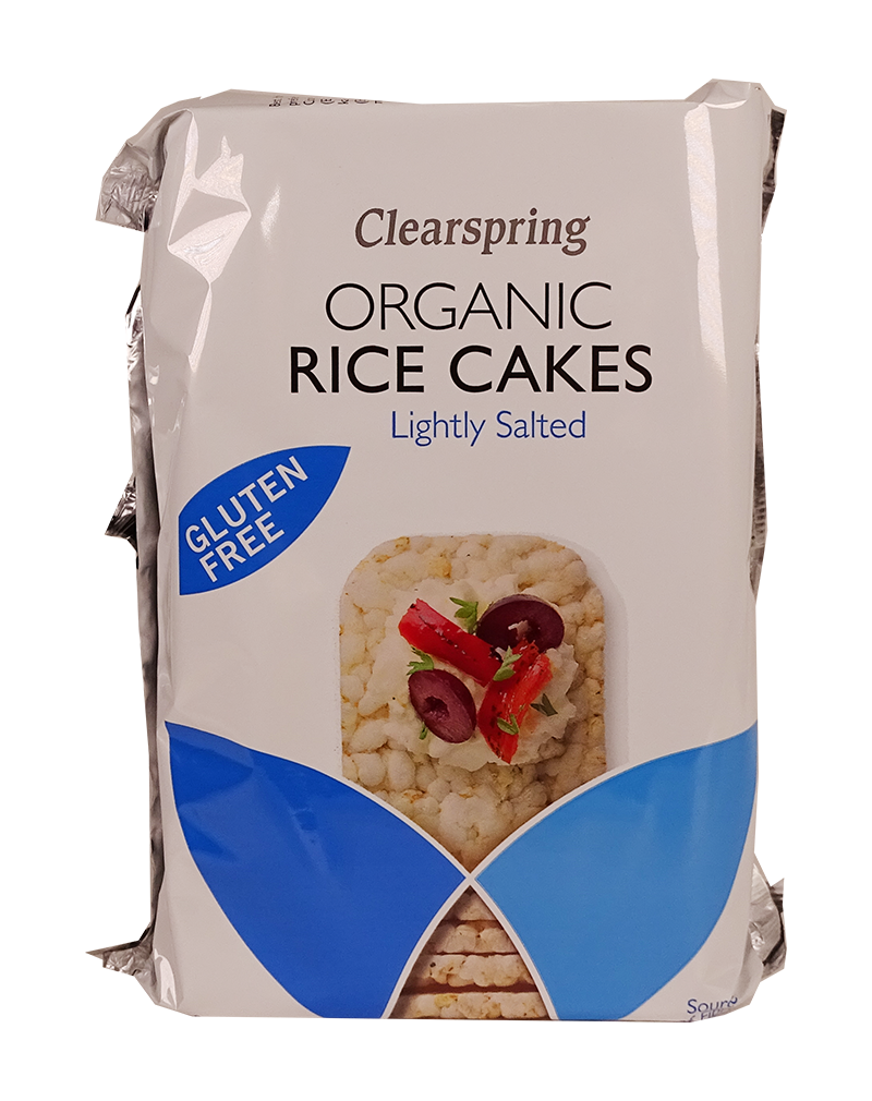 Organic Rice Cakes - Lightly SaltedF-HCSR003