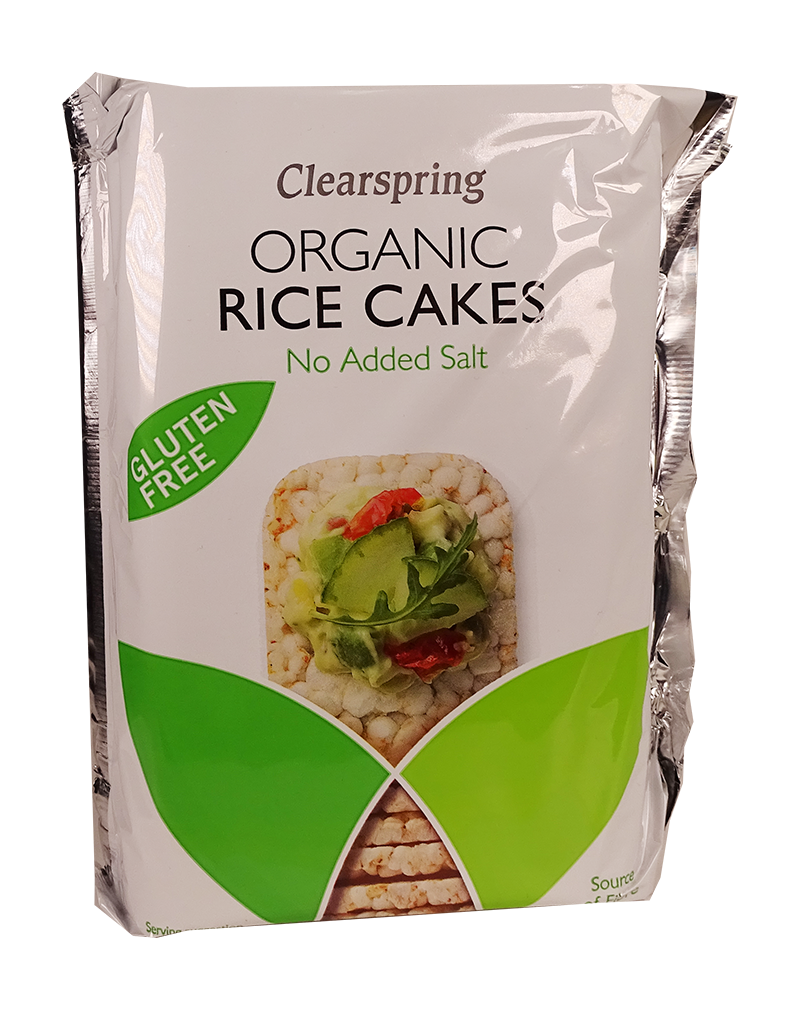 Organic Rice Cakes - No Added SaltF-HCSR004