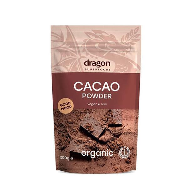 DRAGON BIO RAW CACAO POWDER 200G
