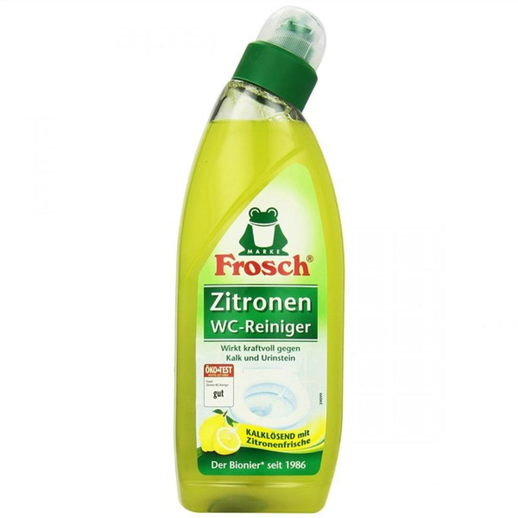 FROSCH WC GEL LEMON 750ML