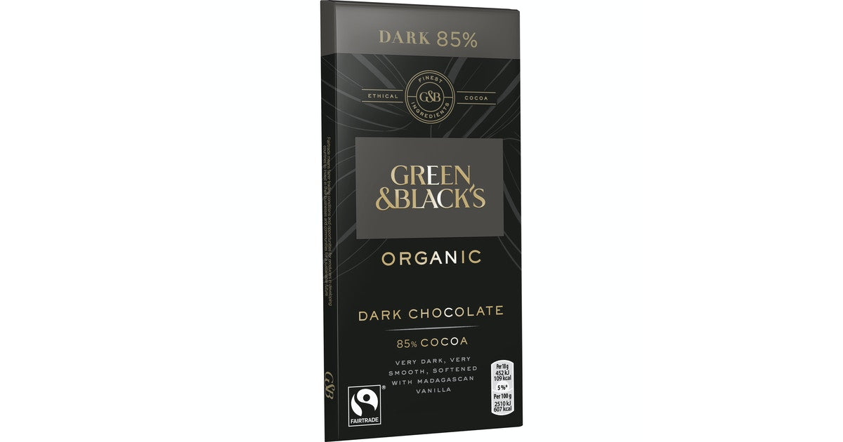 GREEN&BLACKS DARK CHOCO 85G