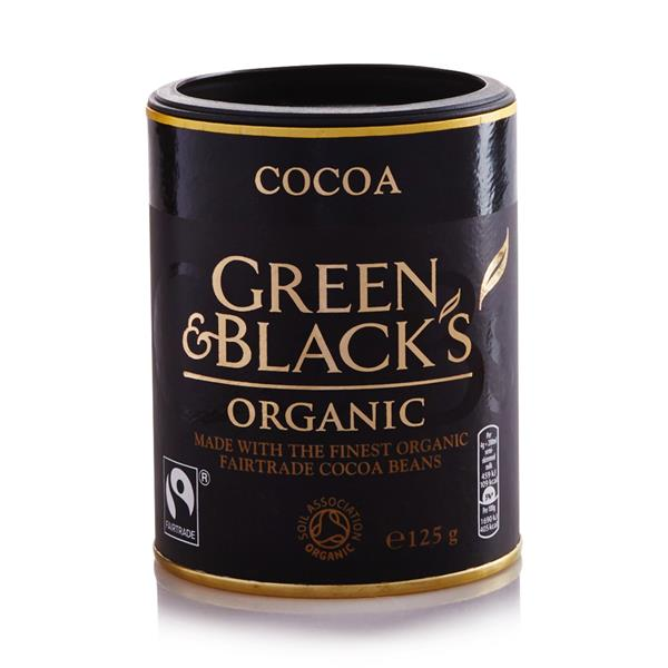 GREEN&BLACKS ORGANIC COCOA 125g