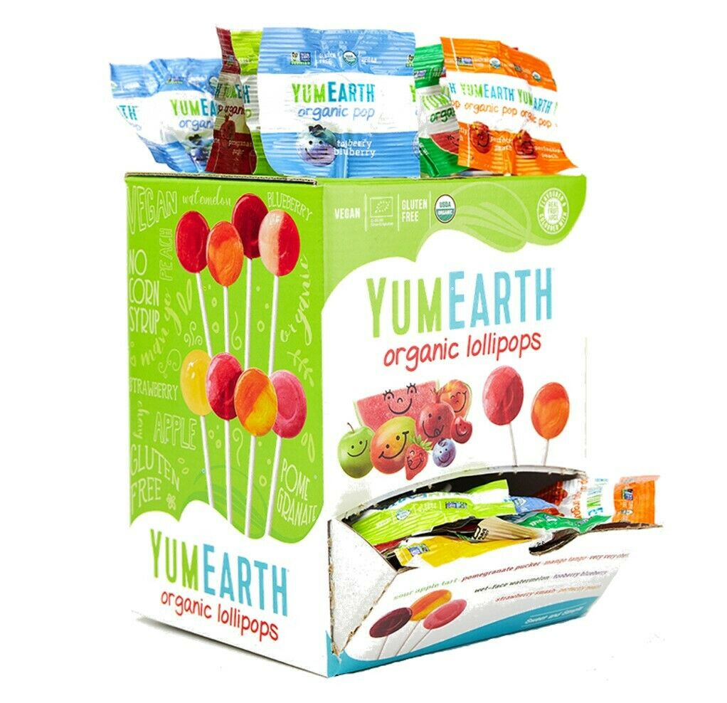 YUMEARTH ORGANIC LOLLIPOP 5G