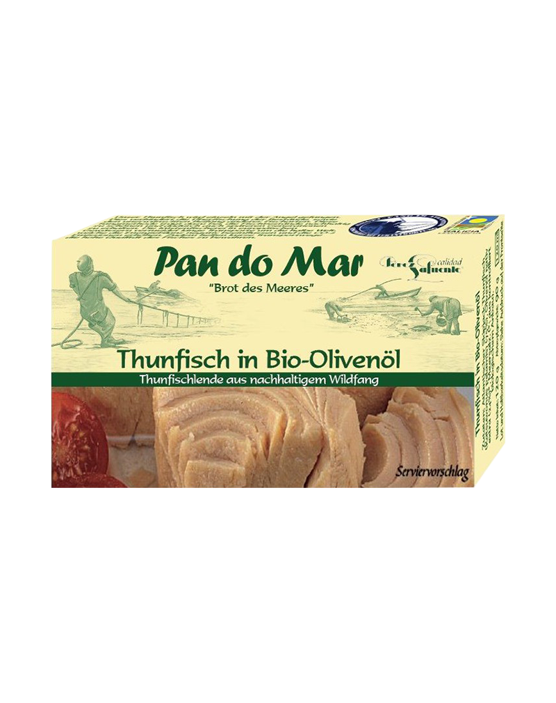 Pan Do Mar Tuna in Organic Bio Olive Oil (120g)
