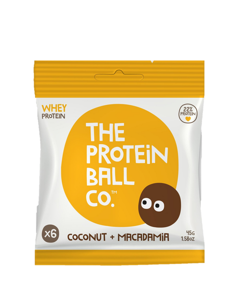 The Protein Ball Co. Coconut & Macadaamia Balls 45g