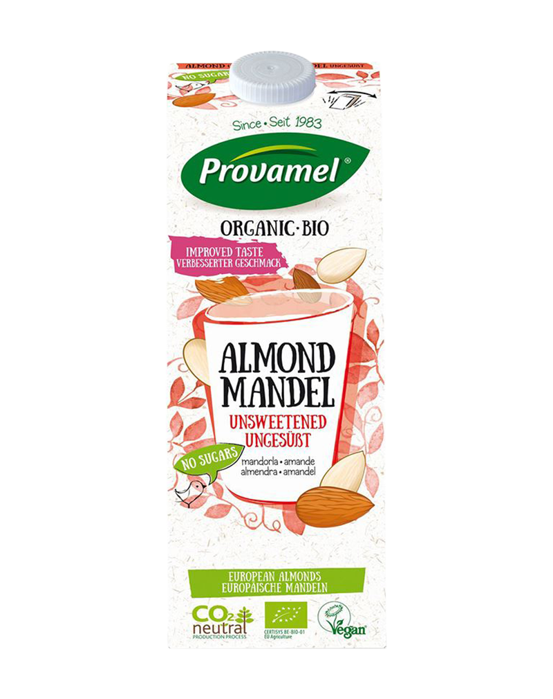 Provamel Organic Almond Unsweetened Milk (1000ml)