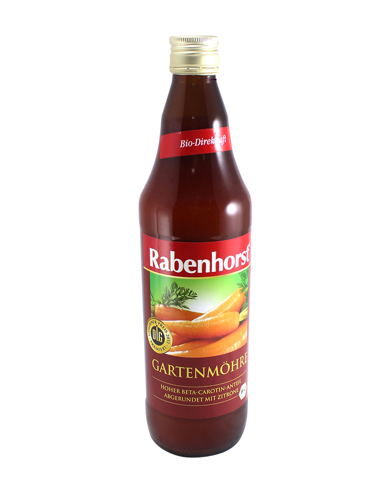 Rabenhorst Organic Carrot Juice (750ml)