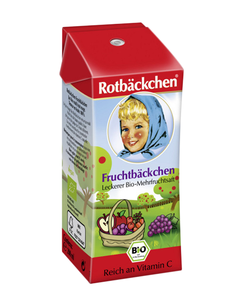 Rotbackchen Organic Mixed Juice For Kids (200ml)