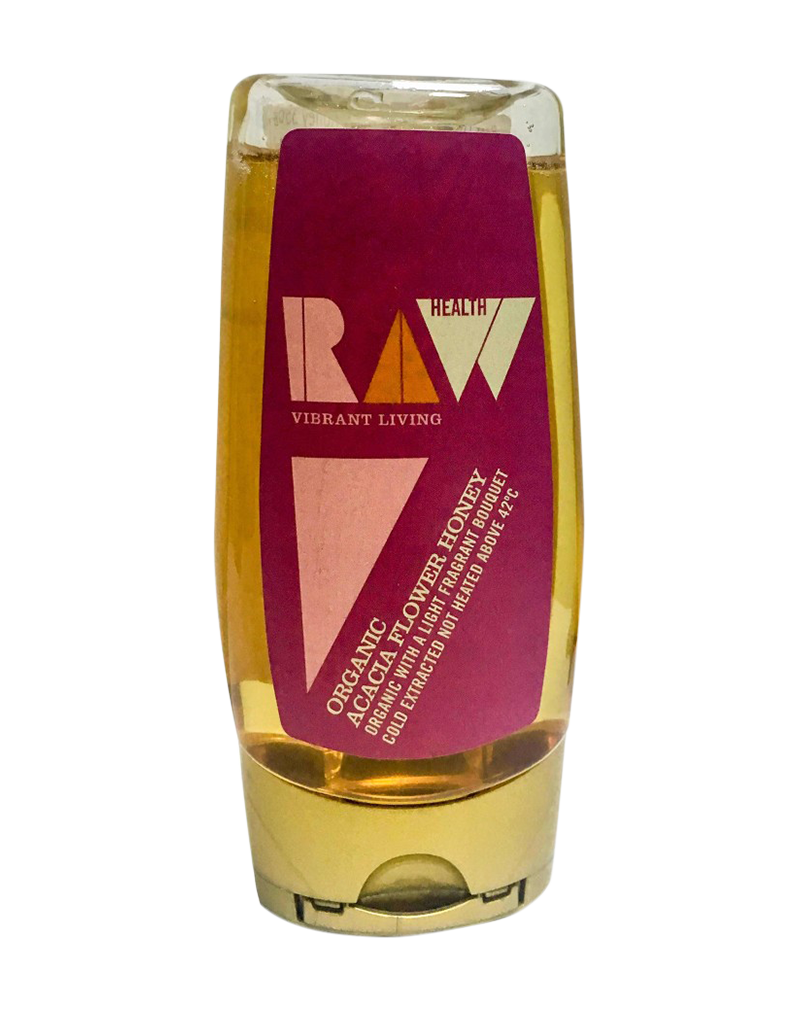 Raw Health - Organic Honey - Acacia Blossom (350g)