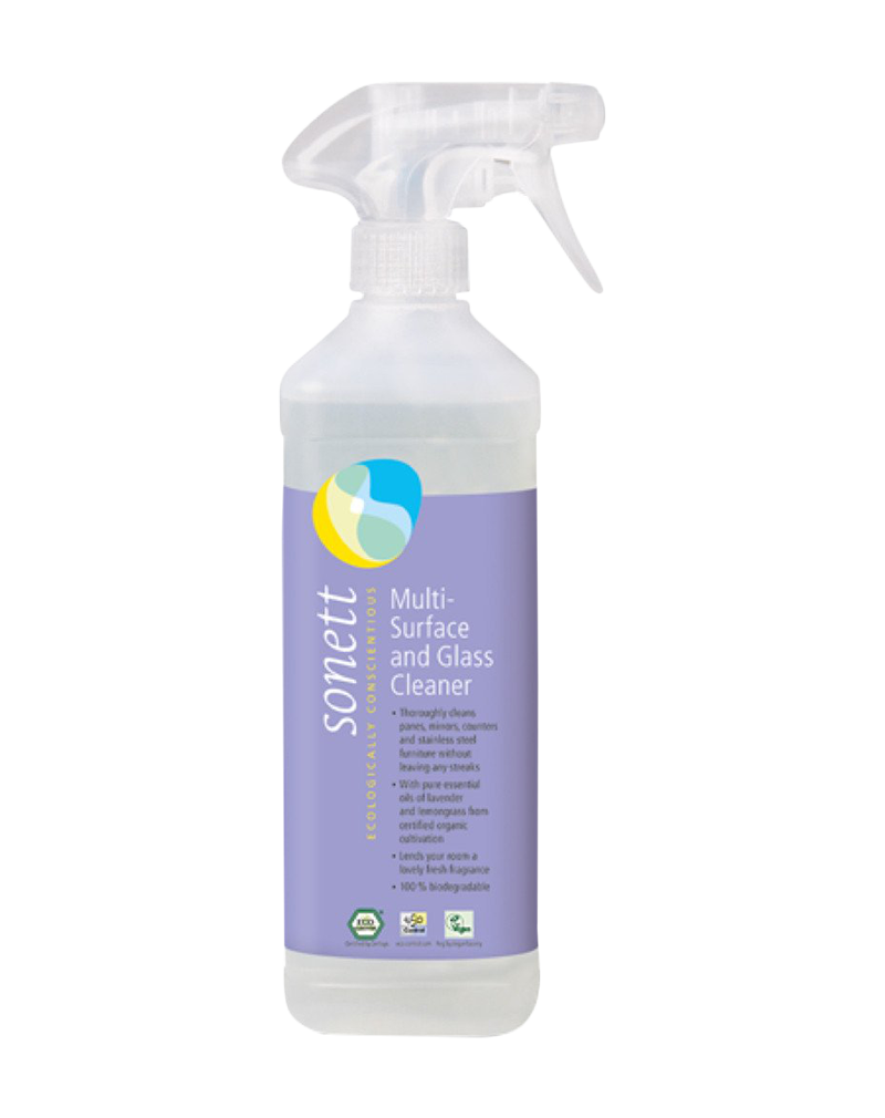 Sonett Multi-Surface and Glass Cleaner (500ml)