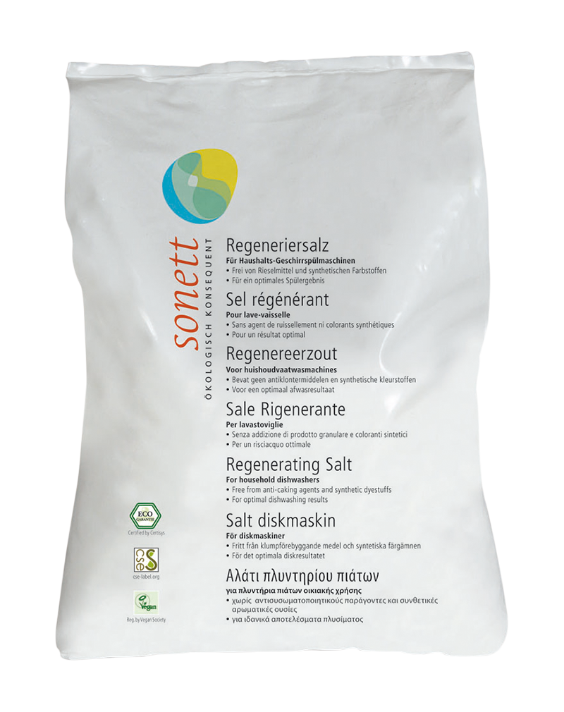Sonett Dishwasher Regenerating Salt (2kg)