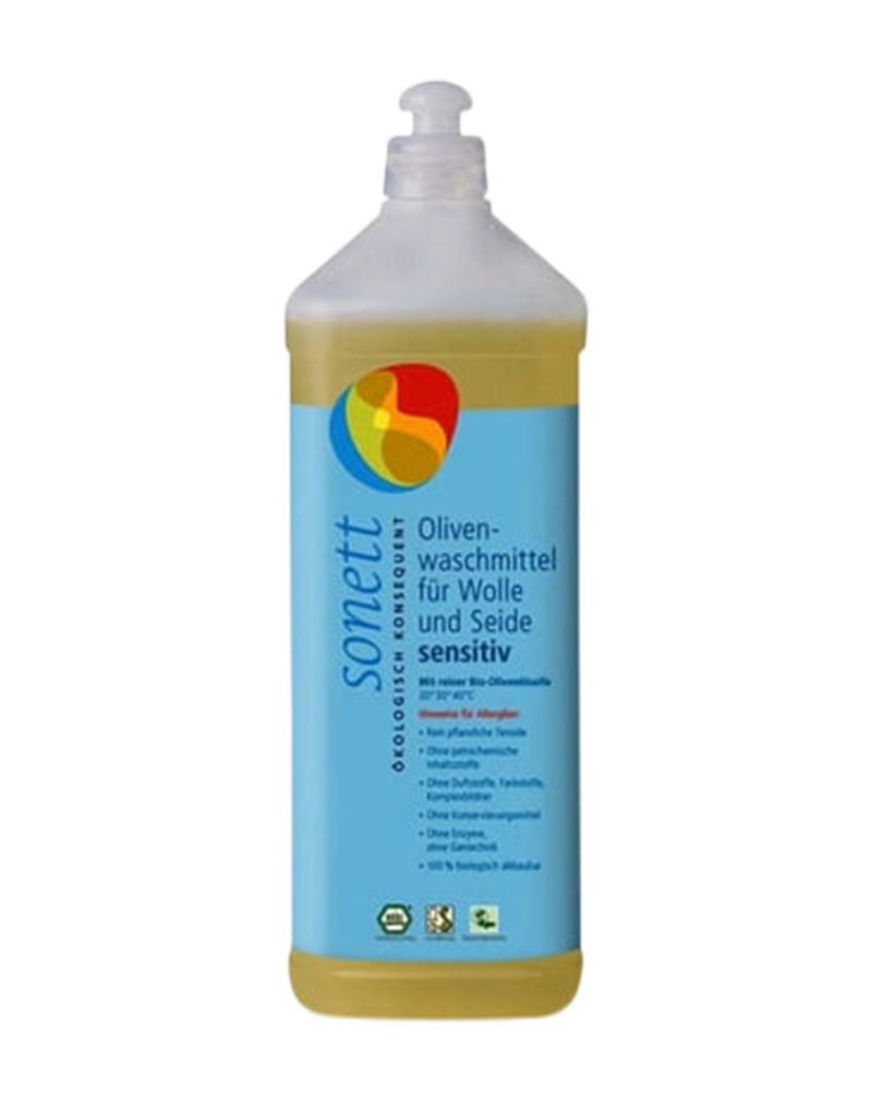 Sonett Olive Laundry Liquid for Wool & Silk Sensitive (1L)