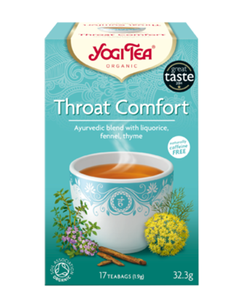 Yogi Tea Organic Tea Throat Comfort (for sore throat)  (37.4g)
