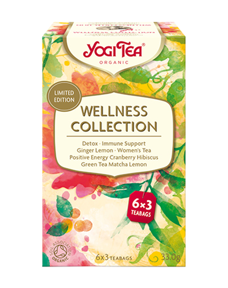 Yogi Tea Organic Wellness Collection (33g)