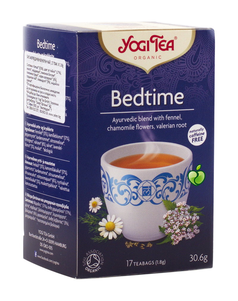 Yogi Tea Organic Tea Bedtime with Valerian for Quiet Sleep (30.6g)