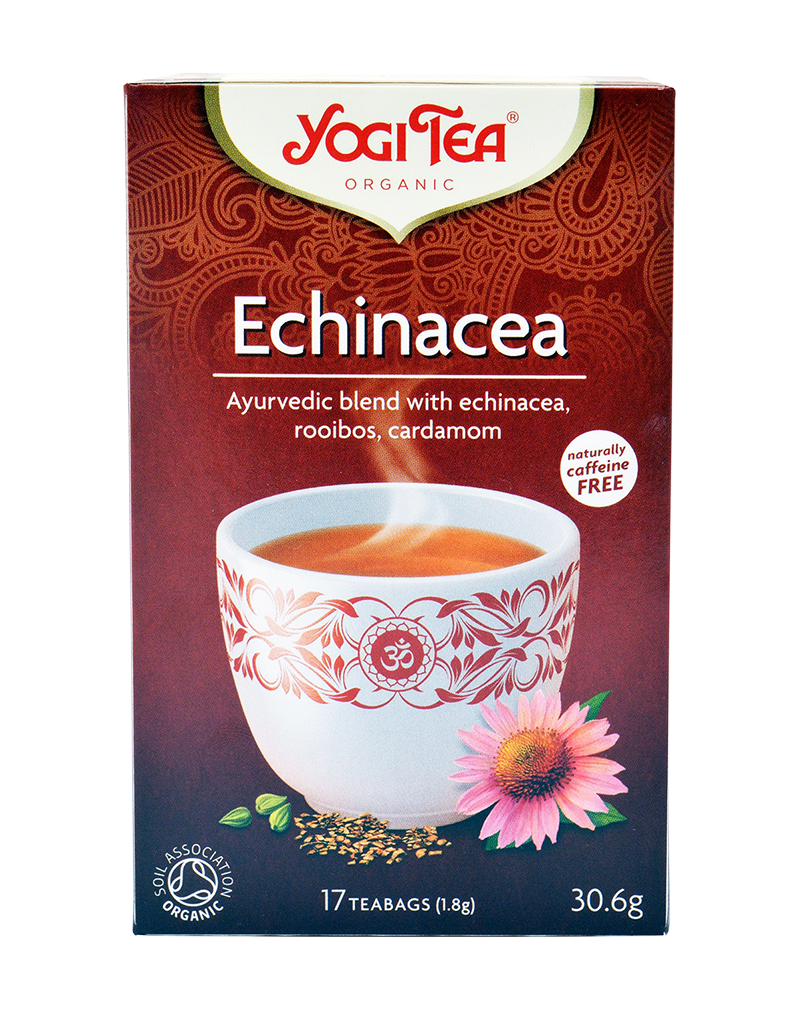 Yogi Tea Organic Echinacea Tea Immune Support  (30.6g)