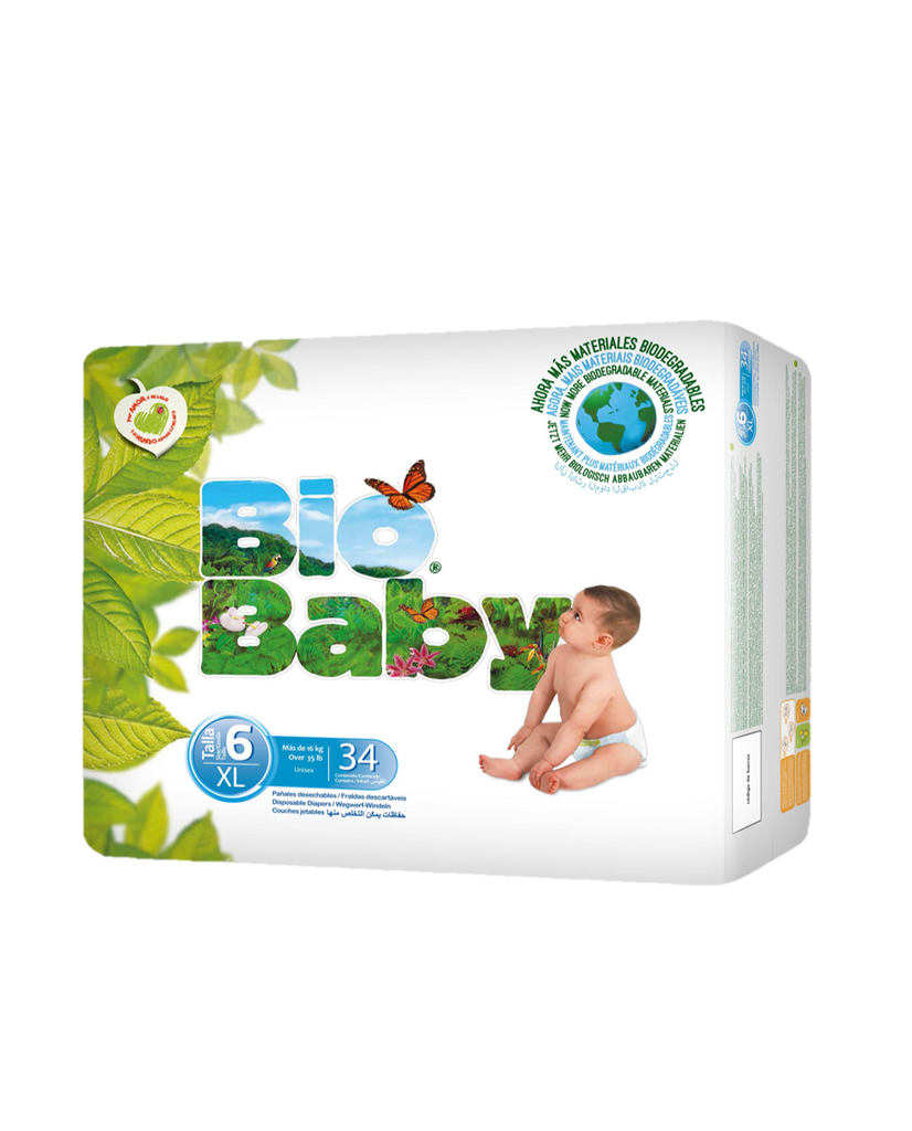 Bio Baby Bio Diapers Size 6  (16-28 kg) 34 pieces