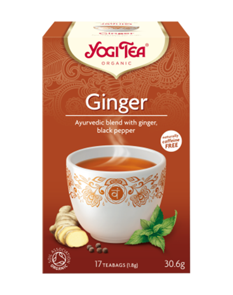 Yogi Tea Organic Ginger (30.6g)