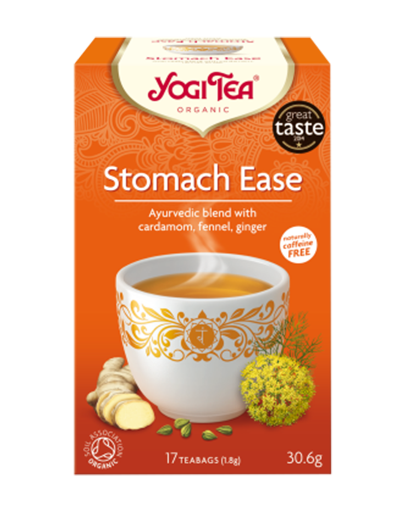 Yogi Tea Organic Tea  Stomach Ease for Good Digestion (30.6g)