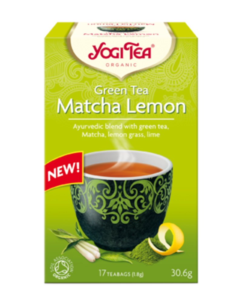 Yogi Tea Organic Green Tea Matcha Lemon (30.6g)