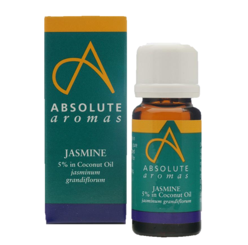 Absolute Aromas Jasmine 5% in Coconut Oil (10ml)