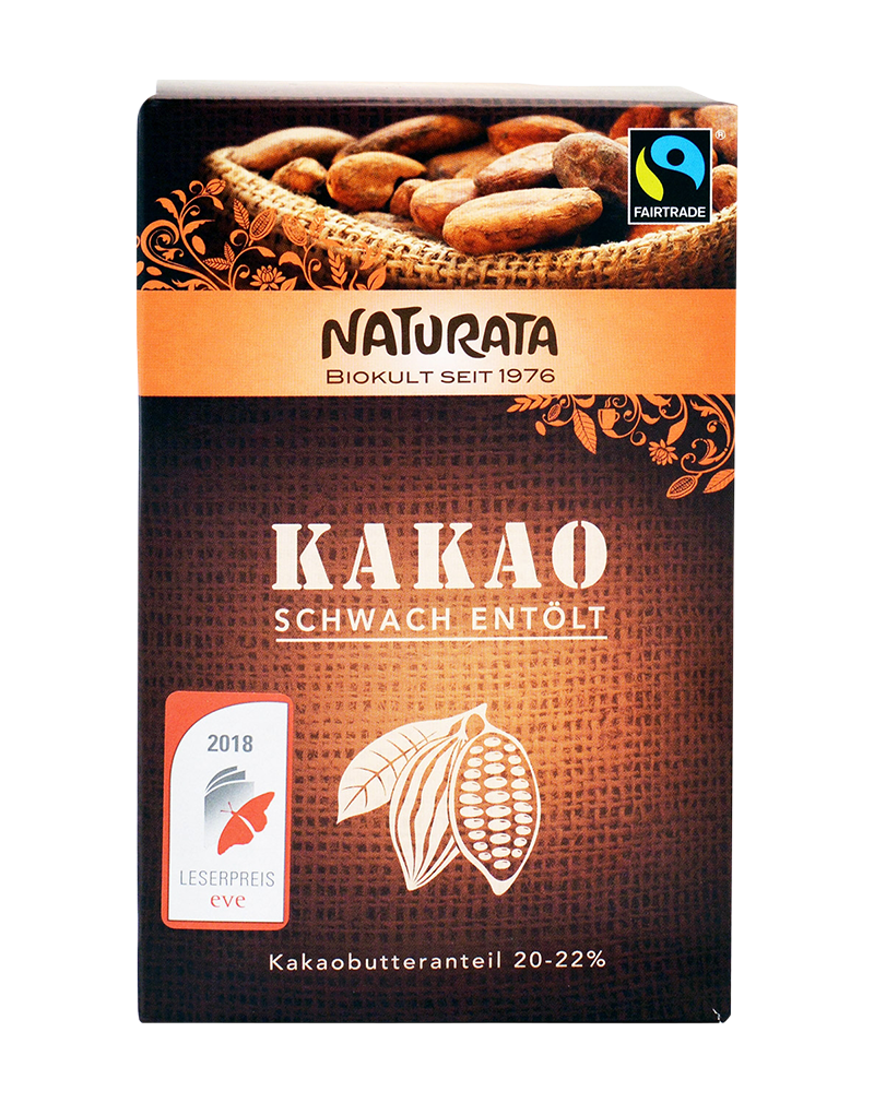 Naturata Bio Cocoa Powder 20-22% (125g)