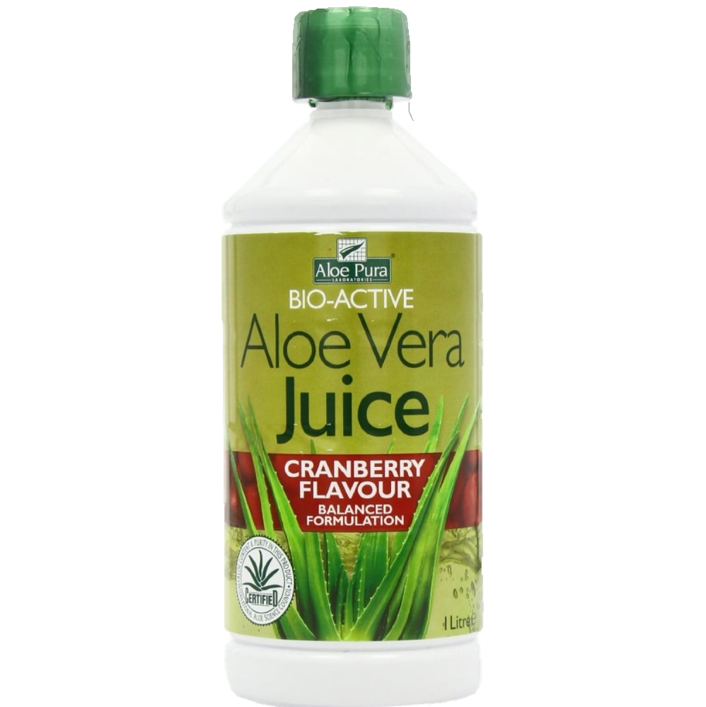 Optima Aloe Vera Juice Cranberry (500ml)