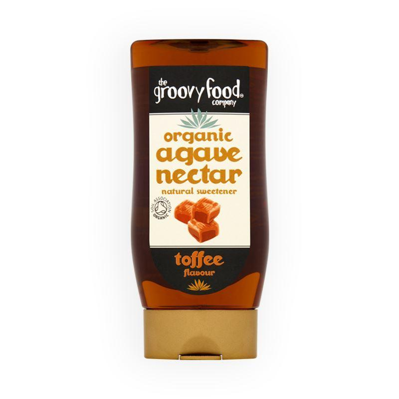 Groovy Organic Agave Nectar - Toffee Flavour 250ml