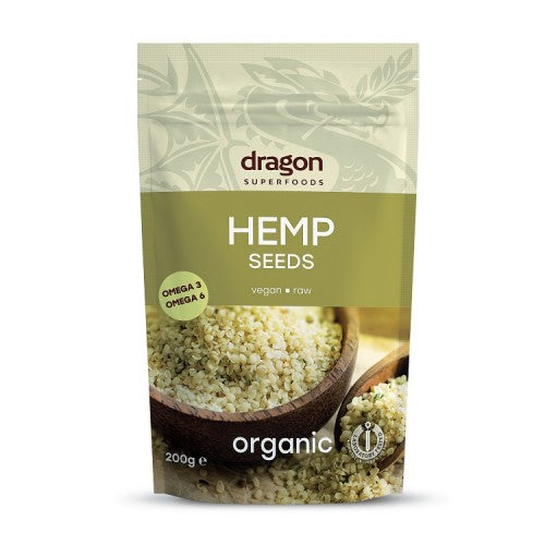DRAGON BIO PEELED HEMPSEEDS 200G