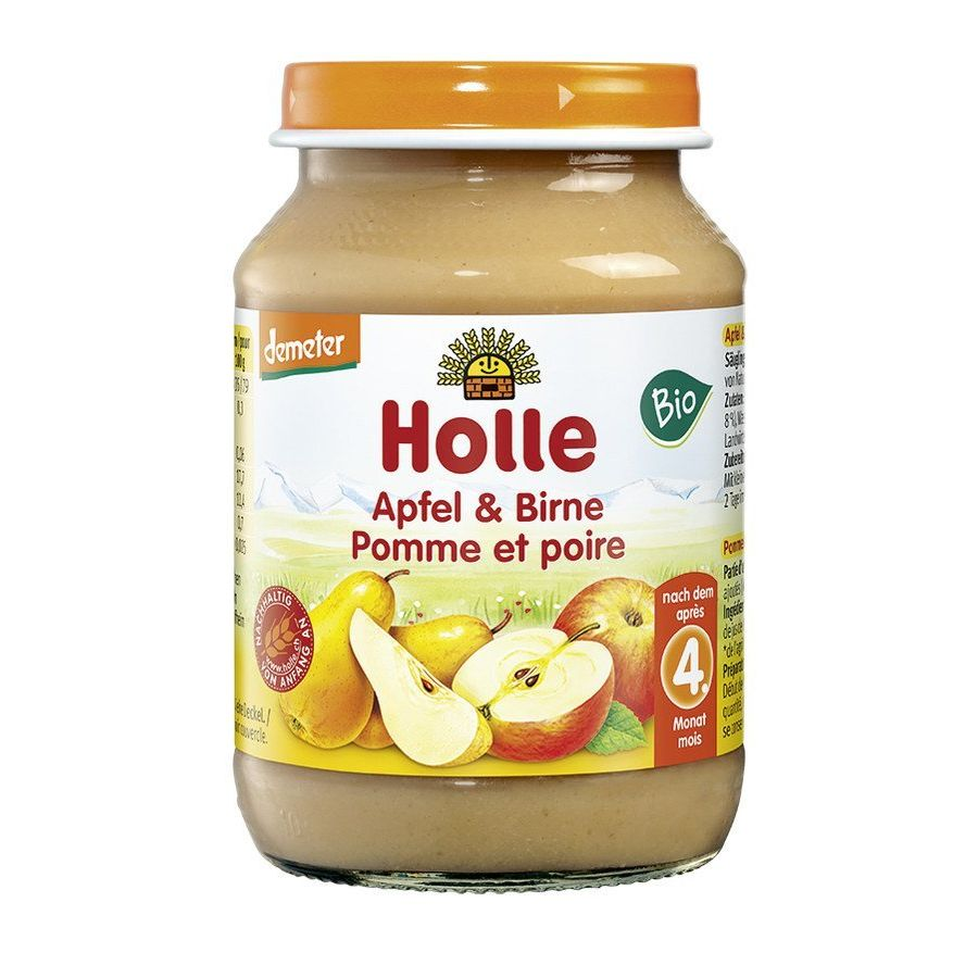 HOLLE BIO APPLE & PEAR 190G