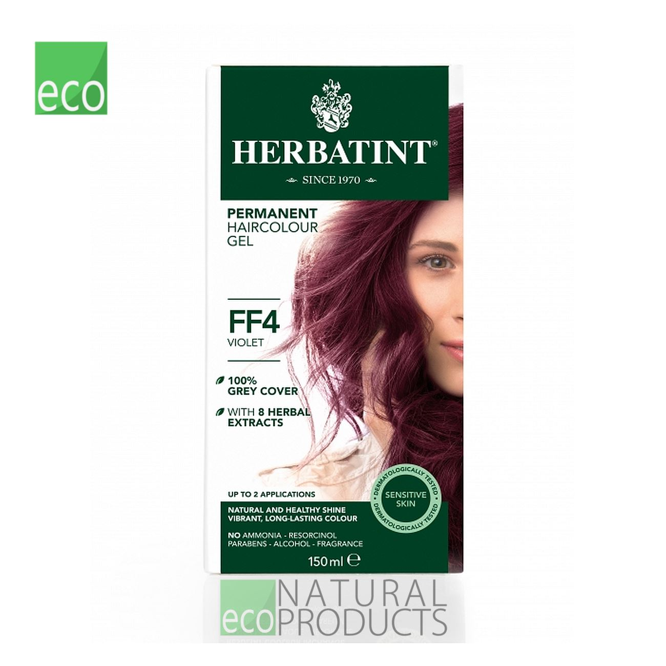 Herbatint Natural Hair Colour Violet FF4 150ml