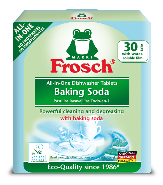 FROSCH DISHWASHER TABLETS 30pcs