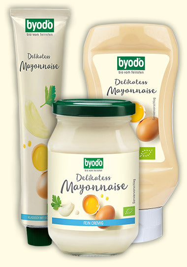 BYODO ORGANIC MAYONNAISE 300ML