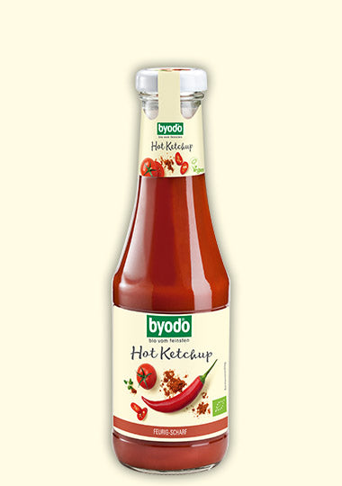 BYODO BIO HOT KETCHUP 500ML