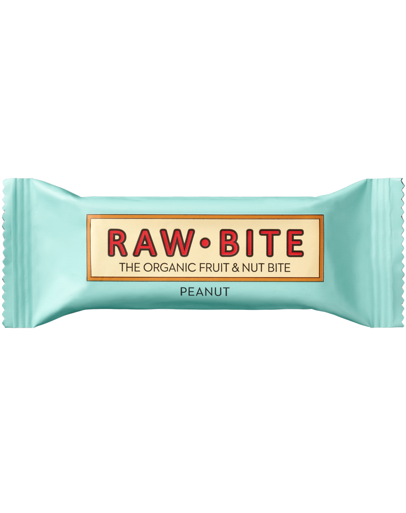 Raw-Bite Organic Fruit & Nut Bite PEANUT (50g)